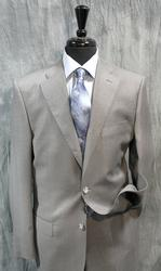 An Eye Catching Grey Color Italian Suit By Galante