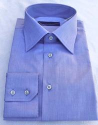 Super Fine Quality Blue Shirt By Di Stefano