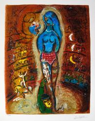 Marc Chagall 'Circus I' Giclee on Paper