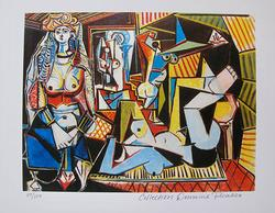 Picasso, Woman of Algiers