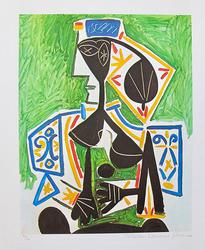 Woman in Green by Pablo Picasso Limited Edition Giclee