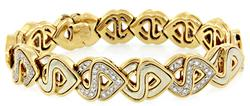 Marina B Diamond S Link Bracelet in 18K