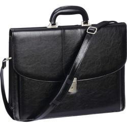 Black Messenger Briefcase Laptop Case