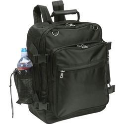 Black Motorcycle Trunk Bar Backpack Bag