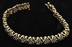 Ladies 2ctw Diamond Bracelet, 14k