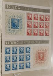 Pacific 97 Commemorative stamps, 2 sheets $13.20 face