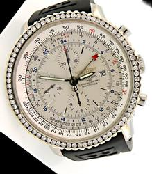 Breitling Navitimer Chronometre with Diamond Bezel