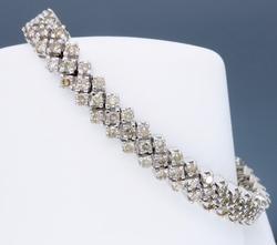 4 cttw Chocolate Diamond Bracelet