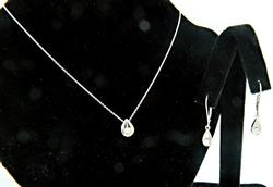 Diamond Earring & Necklace Set