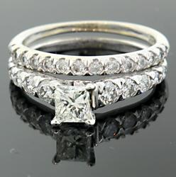 1.0 CTW Diamond Bridal Set