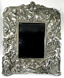 Wonderfully Ornate Sterling Picture Frame