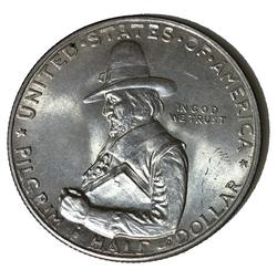 Choice Unbelievable BU 1920 Pilgrim Comm Half Dollar
