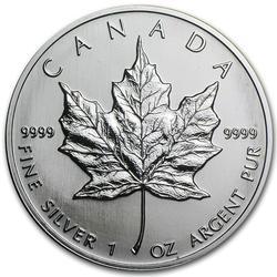 2007 Silver Maple Leaf 1 oz Uncirculated