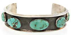 American Indian Sterling Silver Bracelet
