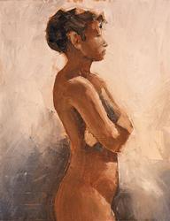 James Strohmeyer, 'Nicole' Original Oil