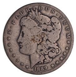 Rare 1889-CC Morgan Silver Dollar - Circulated