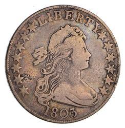 1803 Draped Bust Half Dollar Lg. 3 - Circulated