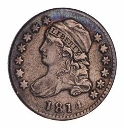 1814 Capped Bust Dime - Circulated