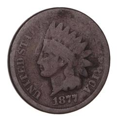 Key Date 1877 Indian Head Cent - Circulated