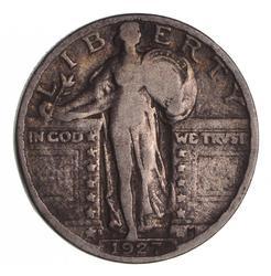1927-S Standing Liberty Quarter - Circulated
