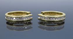 .50CTW Diamond Hoops