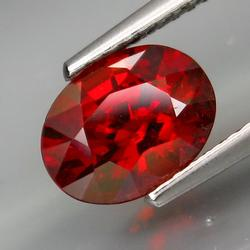 Full fire 2.10ct top color Spessartite Garnet
