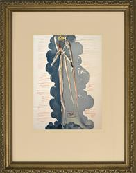 Salvador Dali Woodcut -  Divine Impenetrability