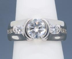Custom 1.47ctw Diamond Ring