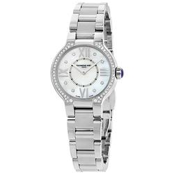 Mother of Pearl & Diamond Ladies Raymond Weil, New