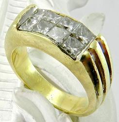 Flashy 1 Ct. T. W. Princess Cut Ring