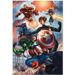 Limited Edition Avengers Giclee on Canvas