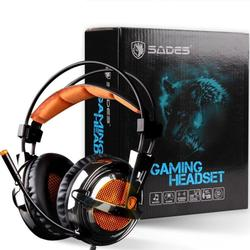 7.1 Channel Gaming Headphones Deep Stereo Sounds