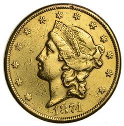 Carson City Gold 1874-CC $20 Liberty Gold Double Eagle