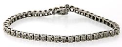 1.0 CTW Diamond Tennis Bracelet