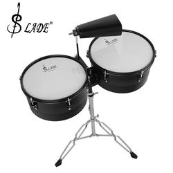 Drum Set with Percussion Stand and Cowbell