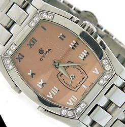 Ladies Cyma Le Locle Watch with Diamonds