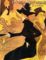 Henri de Toulouse-Lautrec 'Divan Japonais' Giclee
