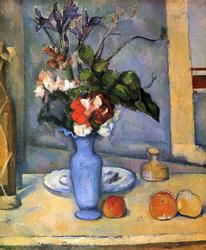 Cezanne - Still Life With Blue Vase Giclee