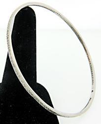 Eternity Style Diamond Bangle Bracelet
