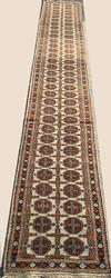 Rare Unusual Design Authentic Handmade Peshavar Long Runner