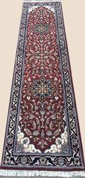 Charming High Quality Handmade Fine Tabriz Runner