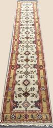Unique Size Hand knotted Long Sultan-Abad Runner
