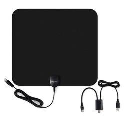 Indoor Flat Digital HDTV Antenna Signal Booster