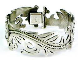Vintage Maricela Taxco Sterling Silver Bracelet