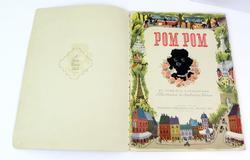 1947 Pom Pom Vintage Children's Fuzzy Wuzzy Book