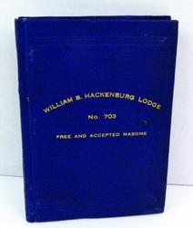 1920 Masonic By-Laws Small Book