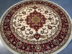 Stunning Traditional Medallion  Design 8ft Area Round