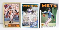 3 Dwight Gooden, Mets Baseball Cards
