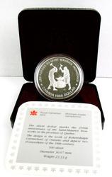 1988 Canada 800 Silver Dollar