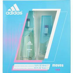 ADIDAS MOVES by Adidas EDT SPRAY 1 OZ & EDT SPRAY .5 OZ